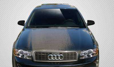 A4 - Hoods - Extreme Dimensions 16 - Audi A4 Carbon Creations OEM Hood - 1 Piece - 106679