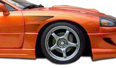 3000GT - Fenders - Extreme Dimensions - Mitsubishi 3000GT Duraflex GT Concept Fenders - 2 Piece - 104338