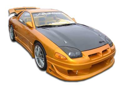 3000GT - Side Skirts - Extreme Dimensions - Mitsubishi 3000GT Duraflex Bomber Side Skirts Rocker Panels - 2 Piece - 101018