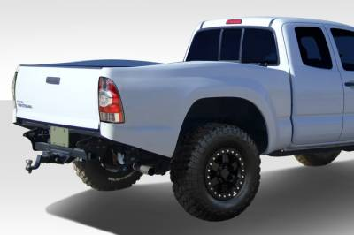 "Tacoma - Fenders - Extreme Dimensions 16 - Toyota Tacoma Duraflex Duraflex Off Road 6"" Bulge Trophy Truck Bedsides Rear Fenders - Long Bed - 2 Piece - 108887"