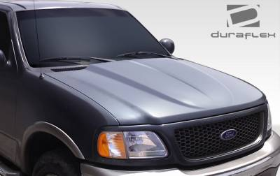 Expedition - Hoods - Extreme Dimensions 16 - Ford Expedition Duraflex Cowl Hood - 1 Piece - 107945