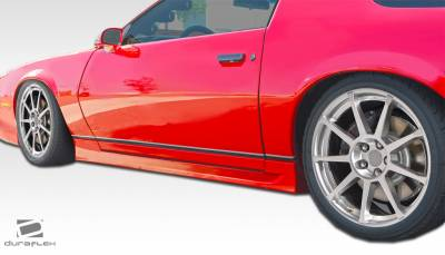 Camaro - Side Skirts - Extreme Dimensions 16 - Chevrolet Camaro Duraflex GT Concept Side Skirts Rocker Panels - 2 Piece - 106834