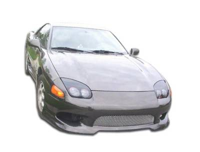 3000GT - Front Bumper - Extreme Dimensions - Mitsubishi 3000GT Duraflex Version 2 Front Bumper Cover - 1 Piece - 101491