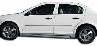Cobalt 2Dr - Side Skirts - Extreme Dimensions 16 - Chevrolet Cobalt Duraflex Racer Side Skirts Rocker Panels - 2 Piece - 100638