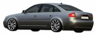 A6 - Side Skirts - Extreme Dimensions 16 - Audi A6 Duraflex Type A Side Skirts Rocker Panels - 2 Piece - 106498