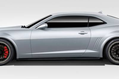 Duraflex - Chevrolet Camaro Duraflex Z28 Look Side Skirt Rocker Panels - 2 Piece - 109811