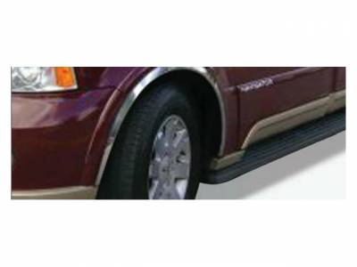 For Lincoln Navigator 2003-2006 Putco Polished Fender Trim