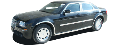 "QAA - 300 Limousine 54"" Stretch QAA Stainless 6pcs Rocker Panel Trim TH45766 - Image 3"
