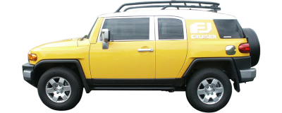 QAA - TOYOTA FJ CRUISER 4dr QAA Stainless 1pcs Grille Accent SG27142 - Image 3