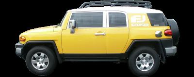 QAA - TOYOTA FJ CRUISER 4dr QAA Stainless 9pcs Grille Accent SG27140 - Image 3