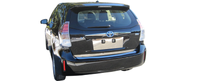 QAA - TOYOTA PRIUS V 4dr QAA Stainless 1pcs Grille Accent SG12700 - Image 5