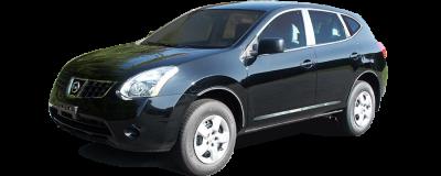 QAA - Fits Nissan ROGUE SELECT 4dr QAA Stainless 4pcs Molding Insert MI28535 - Image 2