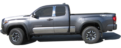 QAA - TOYOTA TACOMA 2/4dr QAA Stainless 2pcs Grille Accent SG16175 - Image 6