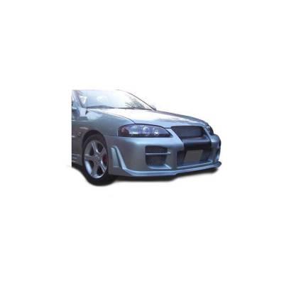 KBD Body Kits Nismo Style Polyurethane Front Bumper Fits Nissan Altima 2DR 08-09