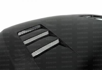 Seibon - Scion TC TS-Style Seibon Carbon Fiber Body Kit- Hood!! HD0506SCNTC-TS - Image 1
