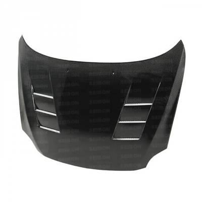Seibon - Scion TC TS-Style Seibon Carbon Fiber Body Kit- Hood!! HD0506SCNTC-TS - Image 2