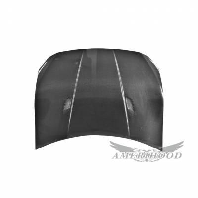 AmeriHood Carbon Fiber - Scion Fr-s AMS-Style AmeriHood Carbon Fiber Hood SF12AHAMSCFH - Image 3