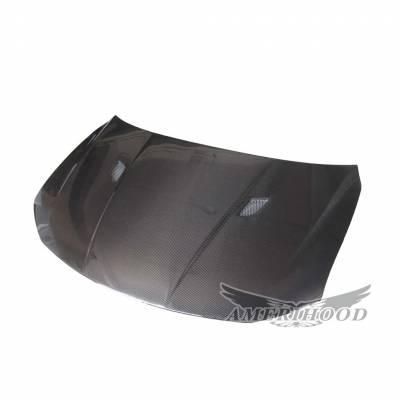 AmeriHood Carbon Fiber - Scion tC AMS-Style AmeriHood Carbon Fiber Hood SC11AHAMSCFH - Image 4